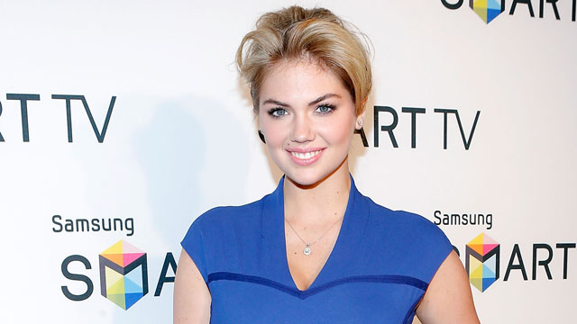 Model Kate Upton attends The Samsung Spring 2013 Launch, March 20, 2013 in New York.