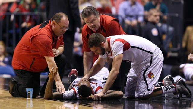 PHOTO: Kevin Ware injury