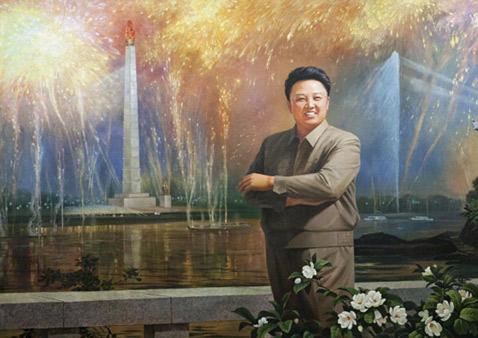 gty kim jong il ll 111221 wblog North Korean Propaganda Posters