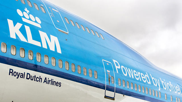 "PHOTO: KLM hopes to roll out the ""Social Seating"" policy in 2012."