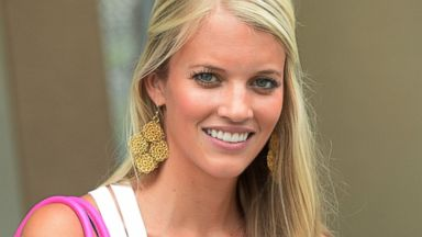 PHOTO: Lauren Tannehill, wife of Dolphins quarterback Ryan Tannehill #17, is seen in this July 27, 2013 file photo at the Miami Dolphins training camp in Davie, Fla.