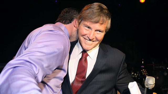 PHOTO: Leigh Steinberg attends the Leigh Steinbergs 25th Annual Super Bowl Party, in this Feb. 5, 2011 file photo in Dallas, Texas.