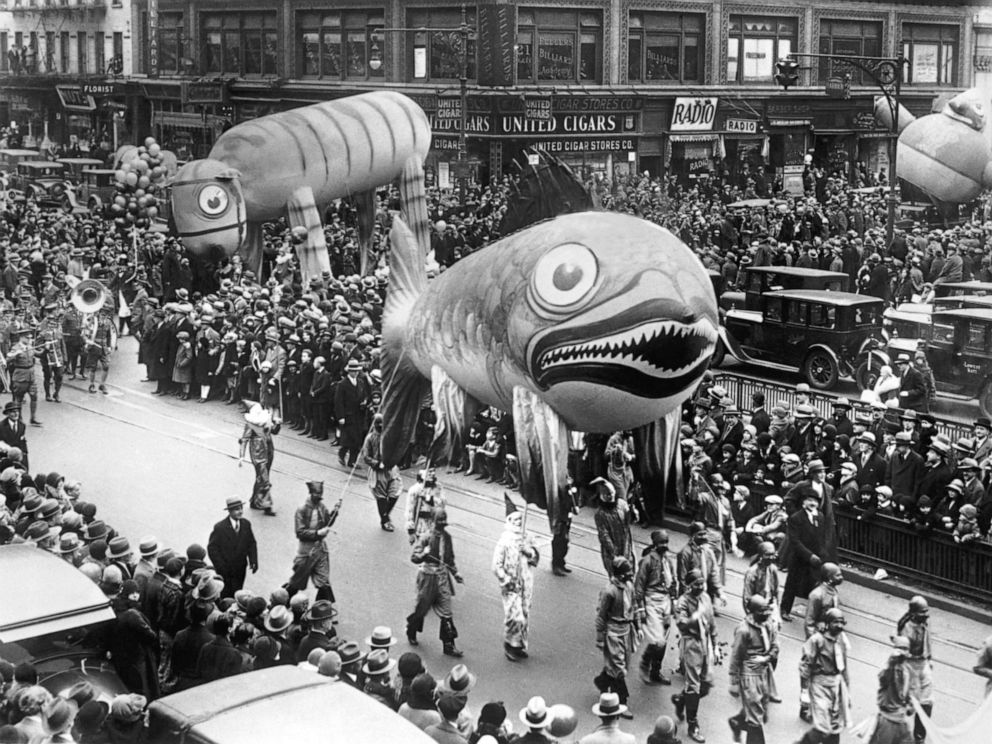 Macys Thanksgiving Day Parade Through the Years