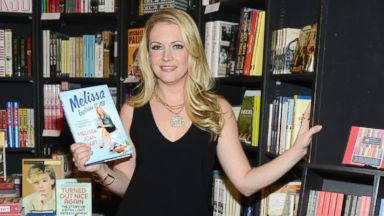 "PHOTO: Melissa Joan Hart signs copies of her book ""Melissa Explains It All: Tales From My Abnormally Normal Life"" at Book Soup on November 6, 2013 in West Hollywood, California."