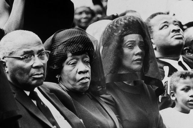 gty mlk funeral family kb 130403 blog The Murder of Martin Luther King Jr.