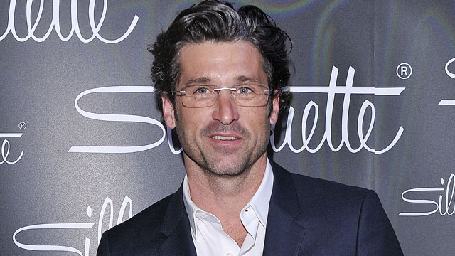 PHOTO: Patrick Dempsey attends the Silhouette photocall, March 4, 2013, in Milan.