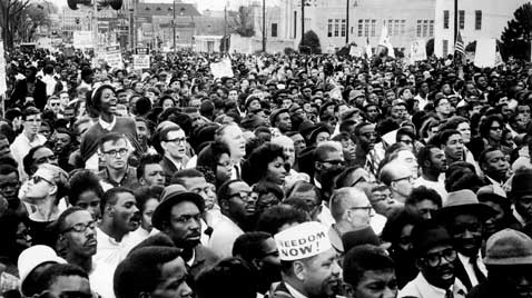 gty selma montgomery civil rights march crowd thg 120130 wblog Black History Month: Selma to Montgomery Marches
