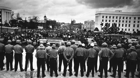 gty selma montgomery civil rights march police thg 120130 wblog Black History Month: Selma to Montgomery Marches