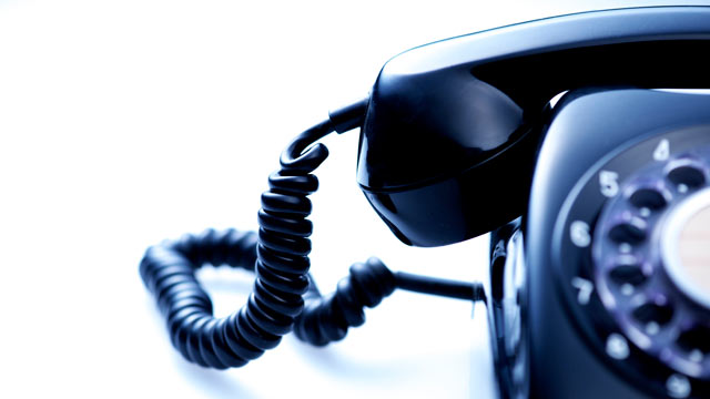 PHOTO: Robocalls always seem to come at the most inopportune times.