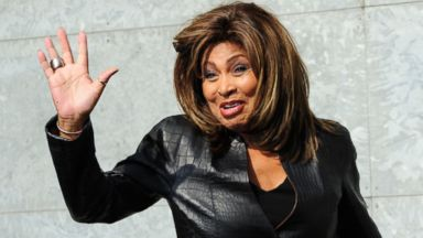 PHOTO: US singer Tina Turner poses prior the Emporio Armani Fall-Winter 2011-2012 ready-to-wear collection on February 26, 2011 during the Womens fashion week in Milan.