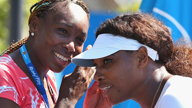 PHOTO: Venus and Serena Williams