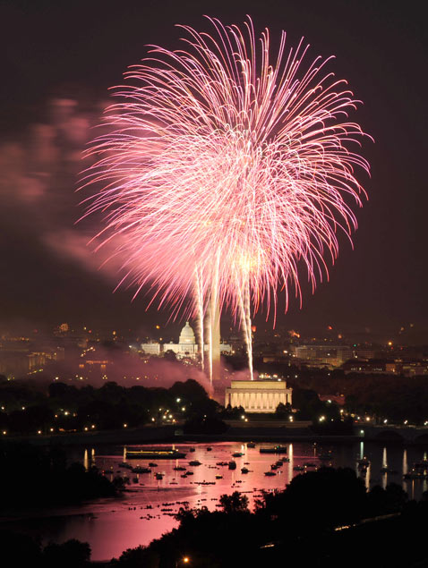 gty washington dc fireworks thg 120628 wblog Top Ten Cities for Fireworks