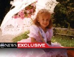 PHOTO: John Ramsey says if he had to go back and do it over, he would not allow his daughter JonBenet to participate in pageants. JonBenet is pictured here in an undated photo riding on the back of a car for a local parade. She was found killed at age 6 i