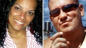 PHOTO Biurny Peguero, left, accused William McCaffrey, right, of rape.