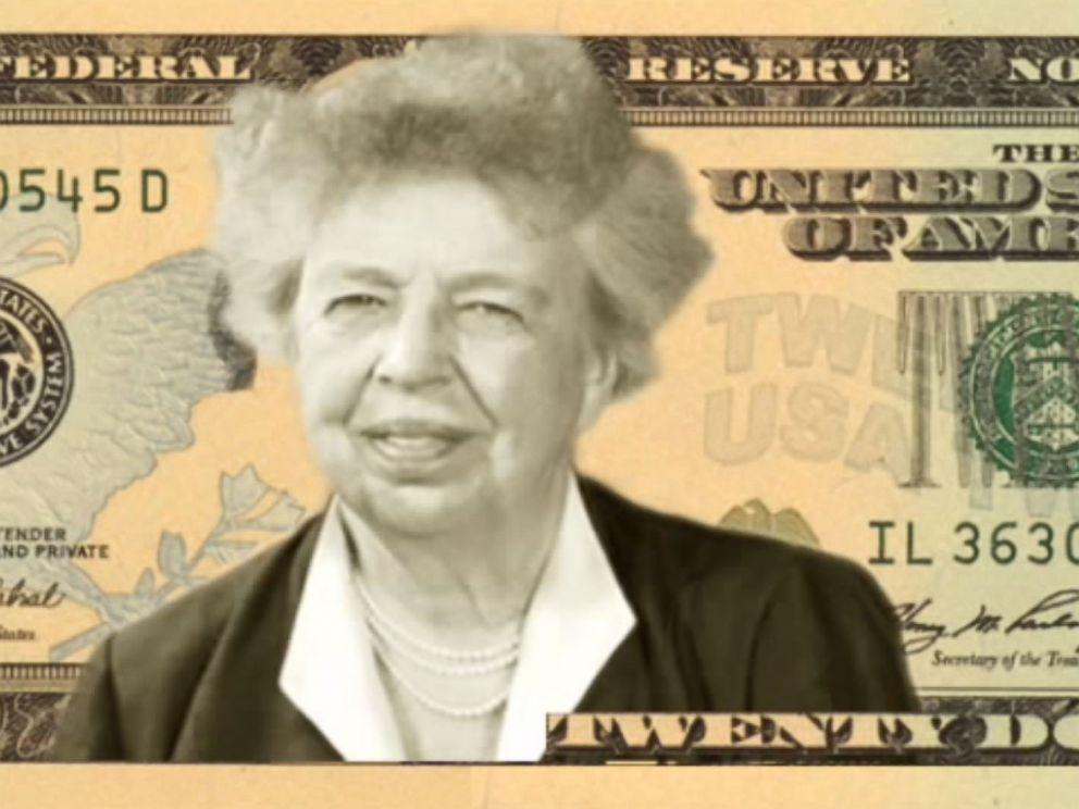 PHOTO: Eleanor Roosevelt is one of the final four candidates that you can vote for in the Women on 20s campaign.
