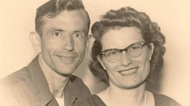 PHOTO: Gordon and Norma Yeager were married for 72 years.