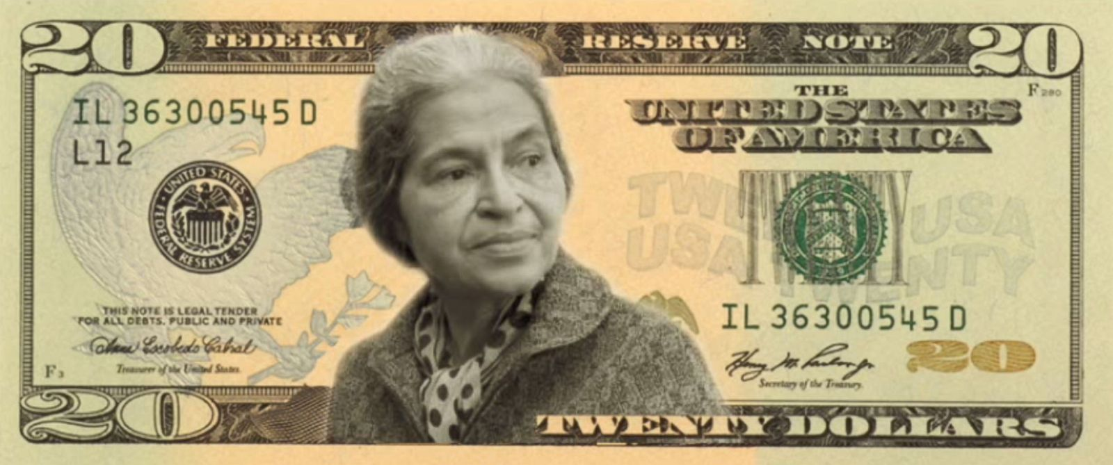 PHOTO: Rosa Parks is one of the final four candidates that you can vote for in the Women on 20s campaign.