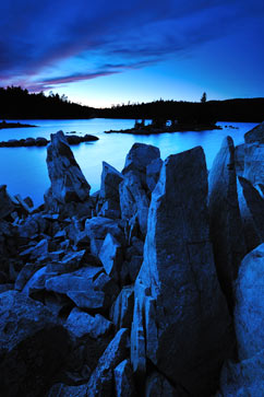 ht Standing Stones Wolf Lake nt 110901 Flickr Photographer: Peter Bowers
