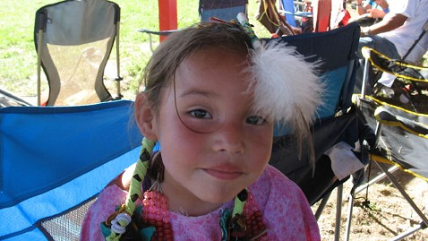 ht Tashina at pow wow 2020 jt 111010 wblog Reservation Childs Wish: Fresh Water, Bubble Gum and a Backpack