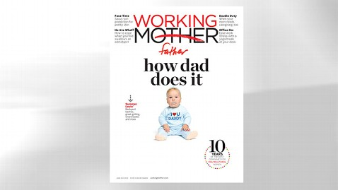 ht Working Mother June July cover 120601 wblog Working Mother Becomes Working Father ... Temporarily