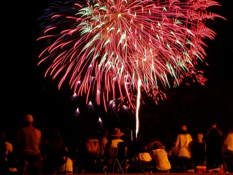 ht addison texas fireworks thg 120628 wblog Top Ten Cities for Fireworks