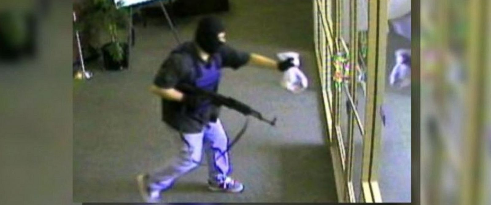 "PHOTO: A manhunt is underway for a bank robber known as the ""AK-47 Bandit"" following a heist in Nebraska on Aug. 22, 2014."