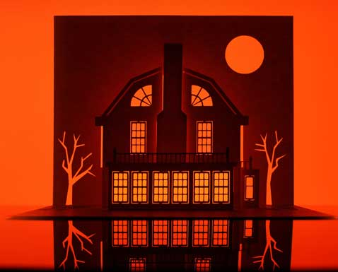 ht amityvillehorror dm 121010 blog Horrorgami Scary Movie Sets From a Single Sheet of Paper