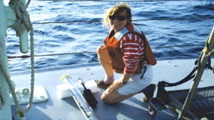 PHOTO Blind oceanographer, Dr. Amy Bower, is shown.