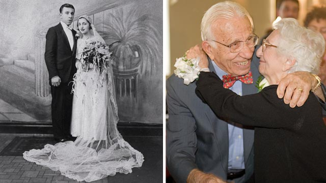PHOTO: Ann and John Betar will celebrate their 80th wedding anniversary on November 25th, 2012. The couple eloped in 1932 and have raised five children, 14 grandchildren and 16 great children.