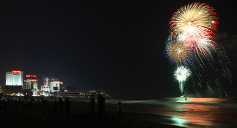 ht atlantic city fireworks thg 120628 wblog Top Ten Cities for Fireworks