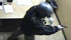 Photo: Motorcycle Bandit Robs Bellagio Casino: Armed Gunman Stole $1.5 Million in Casino Chips from Las Vegas Resort