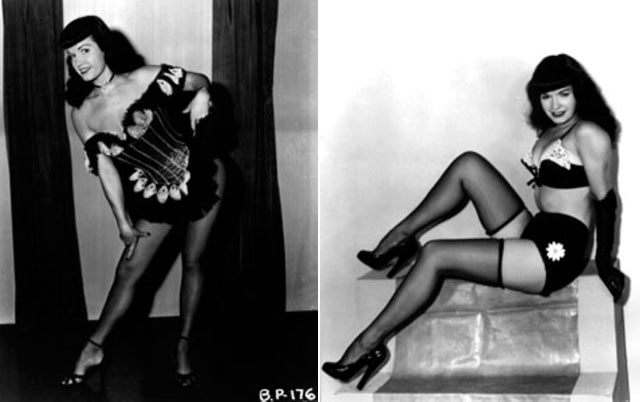 ht bettie paige 1 130405 blog Rare Hollywood & Pin Up Photos on Auction