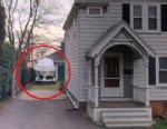 PHOTO: An image pulled from Bing Maps shows a boat behind a home in Watertown, Mass., where a suspect in the Boston Marathon bombing, Dzhokhar Tsaranev, is believed to have hidden after a manhunt in Boston on April 19, 2013.