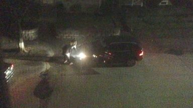 PHOTO: An photograph captures what appears to be Tamerlan and Dzhokhar Tsarnaev in a firefight with police in Watertown, Massachusetts, three days after the 2013 Boston Marathon bombing.