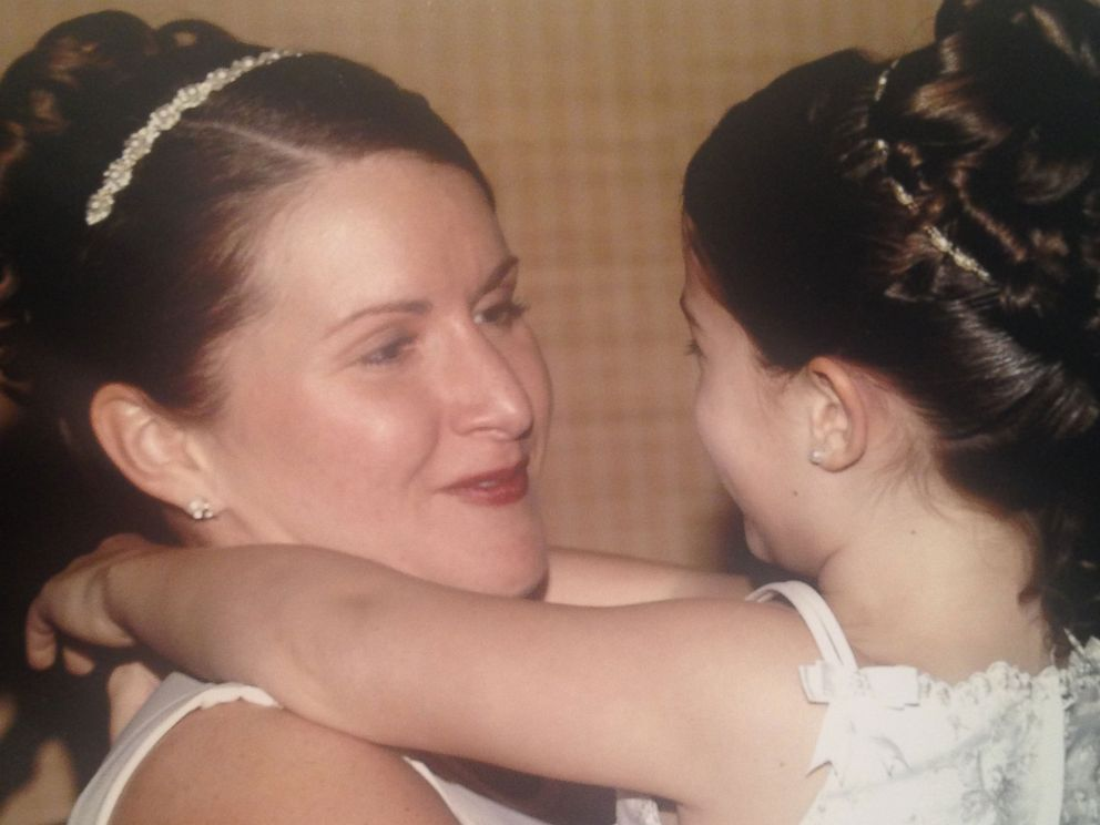 PHOTO: Maura McGarvey and her daughter in an undated photo.