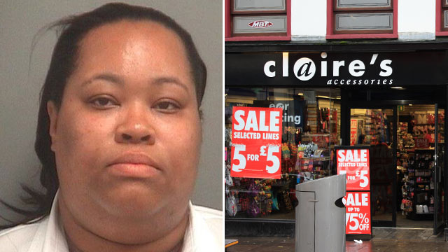 PHOTO: Florida housekeeper, Camille Brown, was arrested on extortion charges for trying to blackmail the founders of Claires.