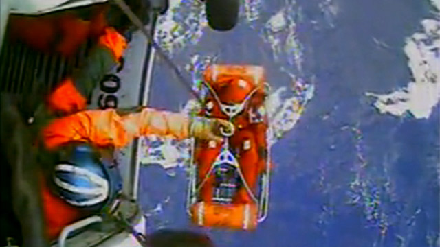 PHOTO: Coast Guard rescue