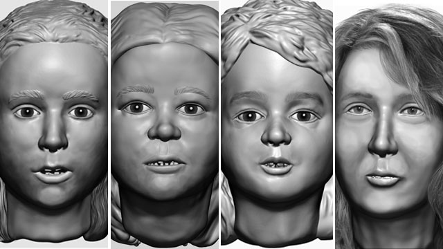 PHOTO: Police in New Hampshire are hoping new digital technology will help solve a grisly cold case of the remains of 3 small girls and an adult woman found in barrels deep in the woods.
