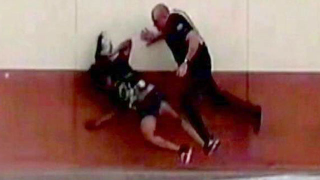 PHOTO:Phoenix Police are investigating the arrest of a 15-year-old girl caught on tape being shoved to the ground by the arresting officer.