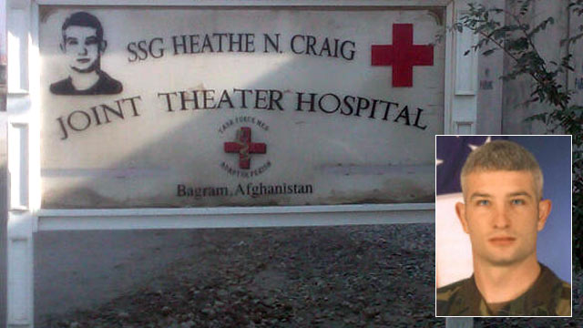 PHOTO: The SSG Heathe N. Craig Joint Theater Hospital was named for Army Staff Sgt. Heathe N. Craig.