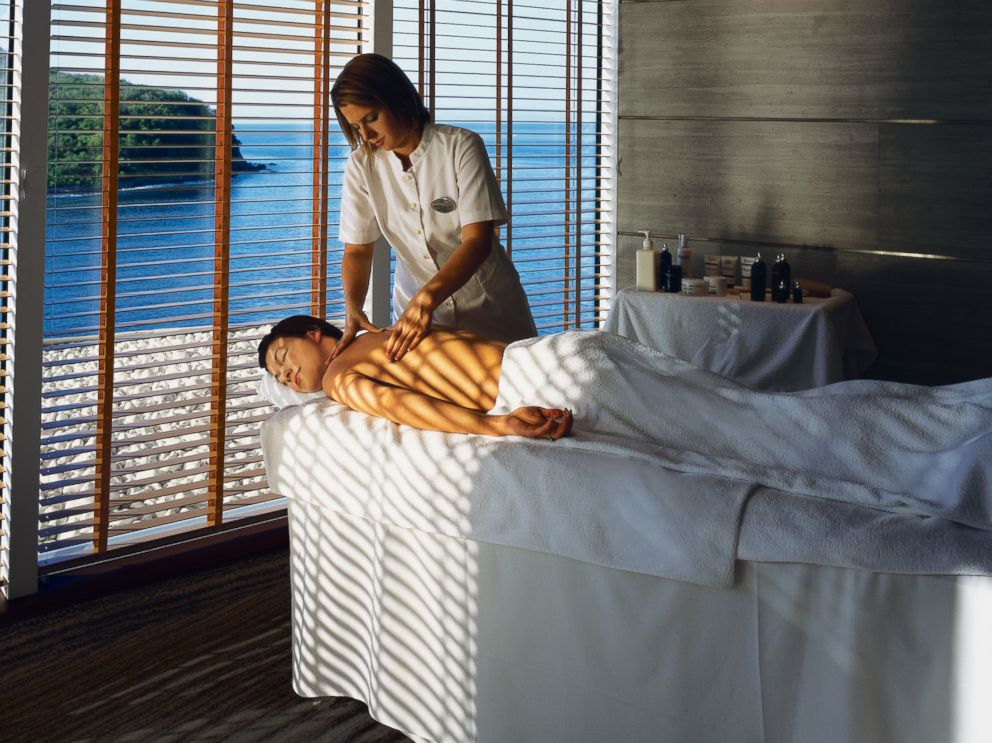 PHOTO: The Crystal Serenitys Crystal Spa & Salon is pictured.