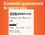 "PHOTO: An alleged CVS receipt for a customer named ""Lee, Ching Chong."""