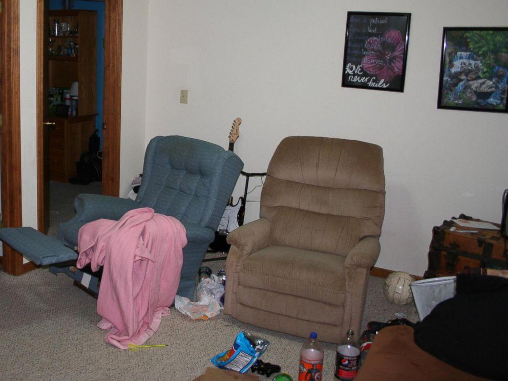 PHOTO: Photo of Matthew Barnetts family basement where the teens were drinking on the night of Jan. 8, 2012.