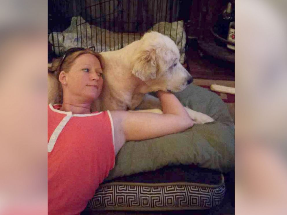 """PHOTO: Michelle """"Missy"""" Shockley was volunteering with the crew that went in to Van, Texas after the tornado to rescue any animal survivors."""