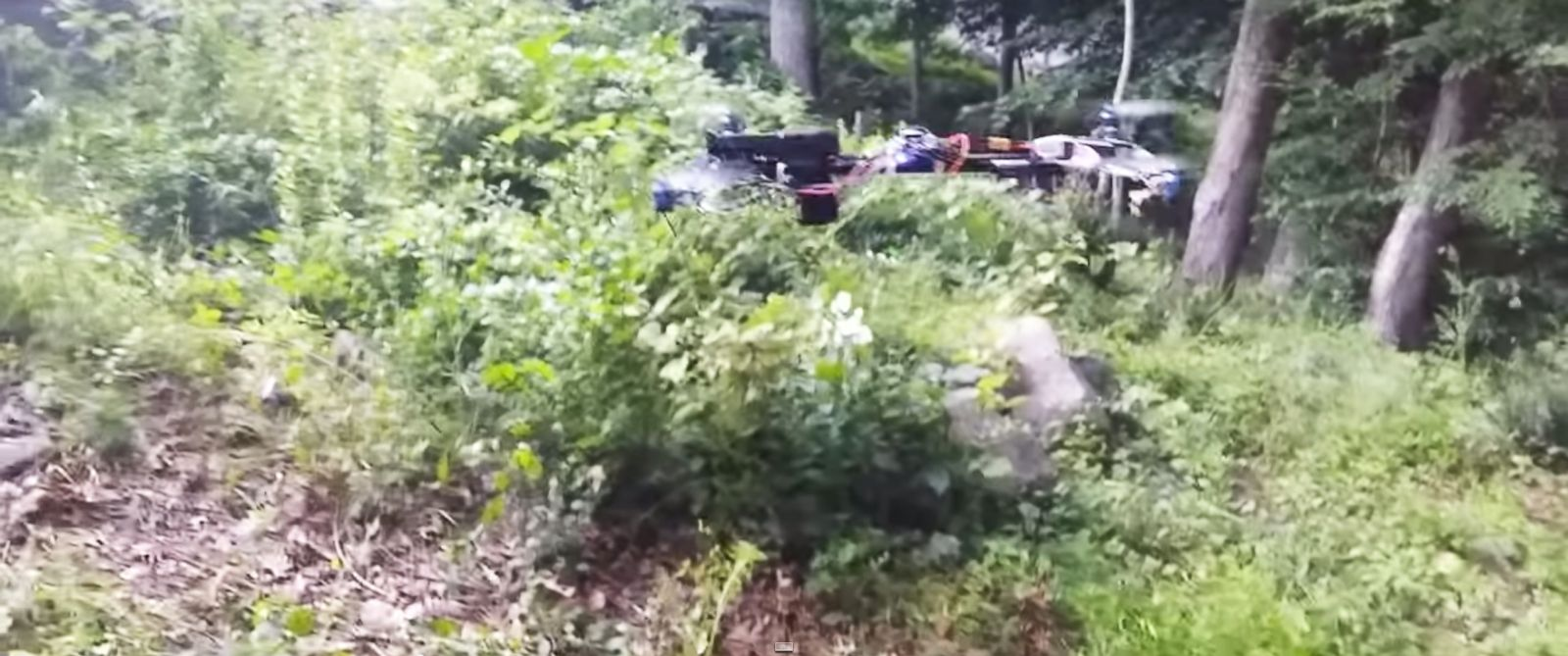 """PHOTO: Video posted on YouTube July 10, 2015, and titled """"Flying Gun"""" shows a drone with a semi-automatic handgun mounted and firing remotely."""