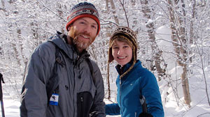 PHOTO Colin Davis and Kathryn Flagg of Vermont are engaged to be married and she will keep her own name.