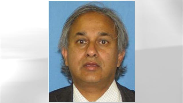 PHOTO: This image provided by the BI shows Dr. Gautam Gupta who is wanted on fraud charges.