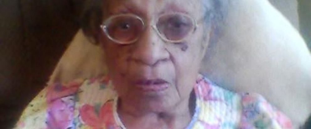 PHOTO: Genora Hamm Biggs, 103, said she has been told not to come back to her life-long church after an argument with her new pastor.