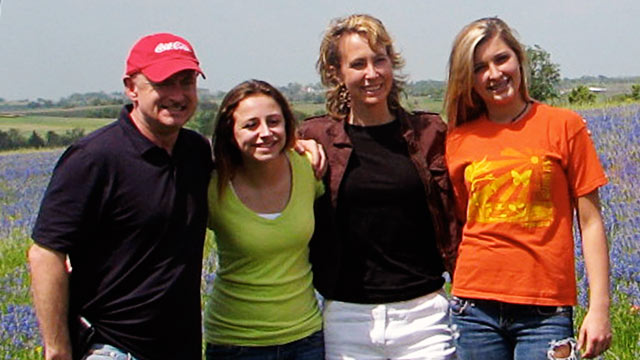 PHOTO: Giffords became a stepmom to two teen girls, Claudia and Claire, after years of yearning to be a mother herself.