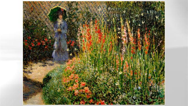 PHOTO:Gladioli, Claude Monet, ca 1876